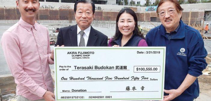 Generous Donations Encourage Support of Budokan in Little Tokyo