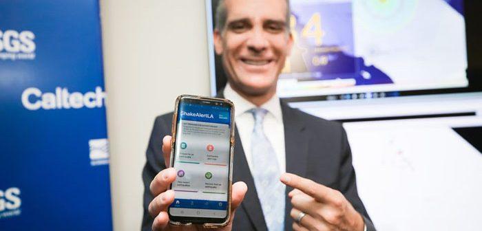 LA市長:地震アプリ、最新版発表