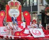 活気で満たす「グランドパレード」: 音頭ダンスで祭り盛り上げる