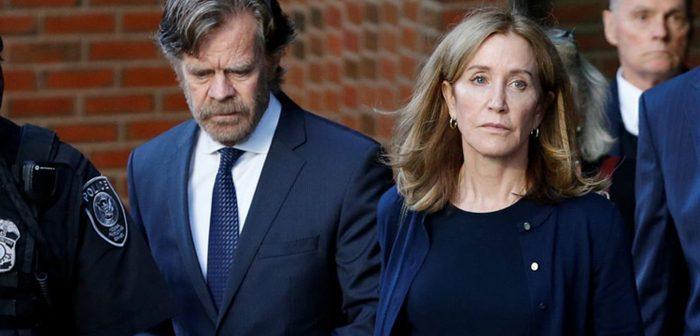 娘の裏口入学事件で実刑判決:禁錮14日、女優のハフマン被告
