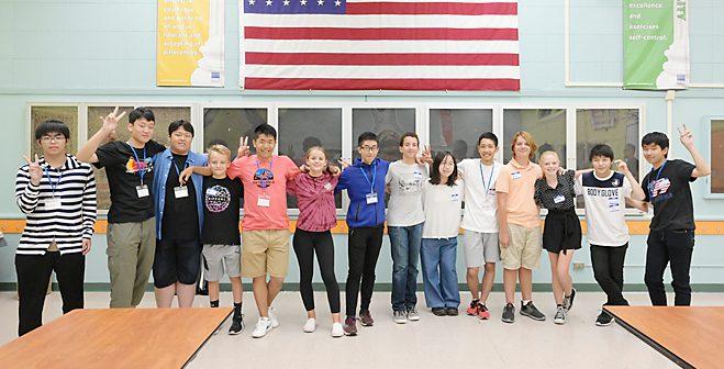 高校生9人、精力的に米国研修:ジョン・ミューア中学と姉妹校提携へ