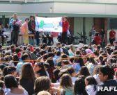 姉妹校の礼文高生徒を歓迎:ジャパンデー催し交流育む