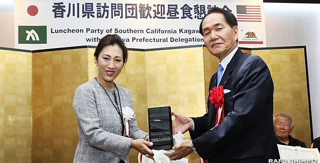 香川県人会、母県との絆強める:浜田知事「頼もしい香川の誇り」