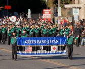 ローズパレードで堂々演奏:小東京で東京五輪の盛り上げも