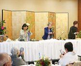 普及へいっそうの精進誓う:南加華道界をリードする3流派