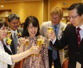 藤田会長が4期8年目続投:地域社会の功労者5人を表彰