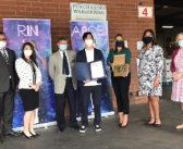 ハンドサニタイザー寄付:3市に計3万本、コロナ感染予防