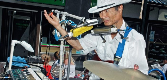 Sweet Song for J-Town's One-Man Band
