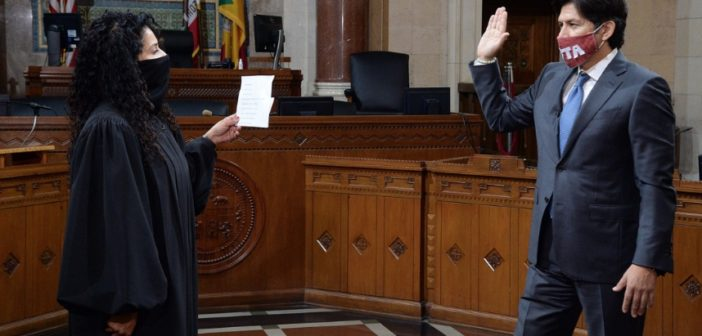 Kevin de León Sworn in as CD 14 Councilmember