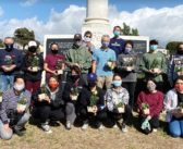 GFBNEC'S Torchbearers Clean Up Evergreen Cemetery