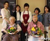 花の再利用で高齢者に活力:日本人女性グループ